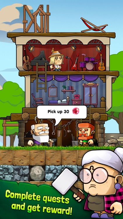 Dig Out! - Dungeon Mine screenshot-5