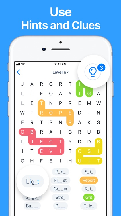 Snaky Words - Word Search Game screenshot-3