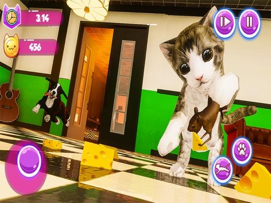Little Kitten My Cat Simulator screenshot #4