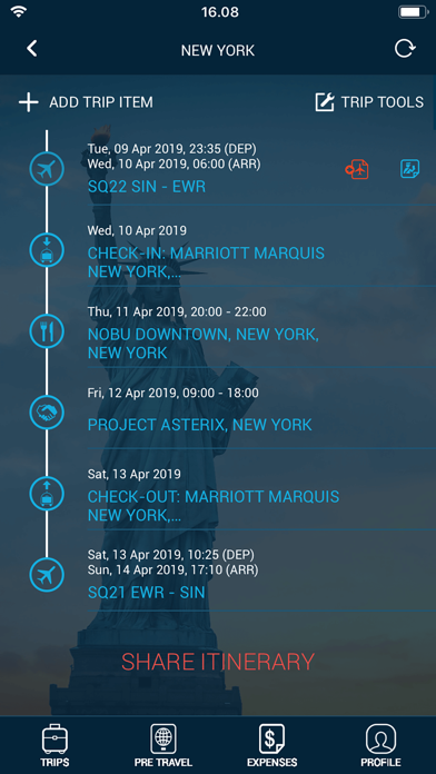 Traveller Buddy - Trip Planner screenshot two