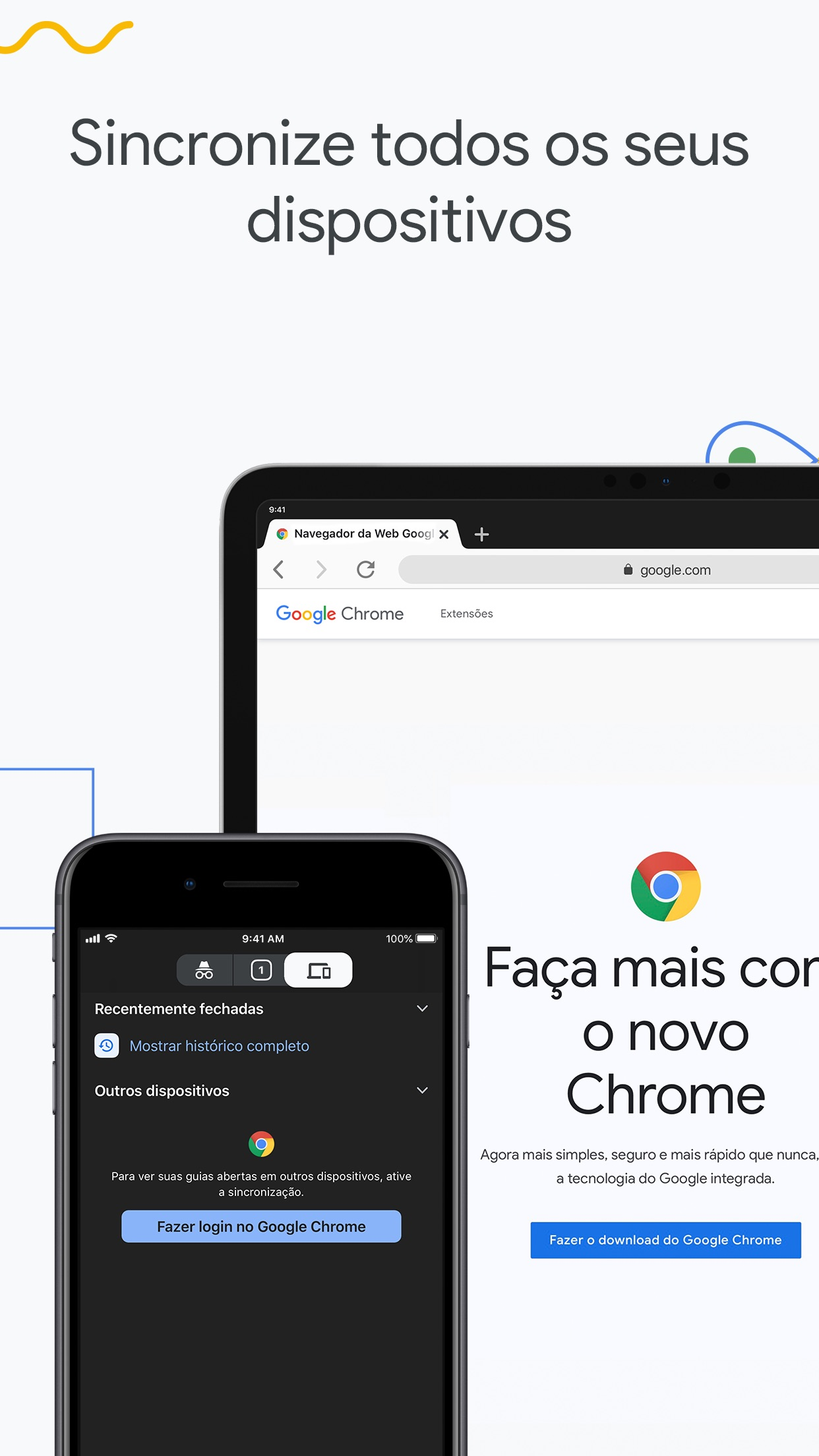 Screenshot do app Google Chrome