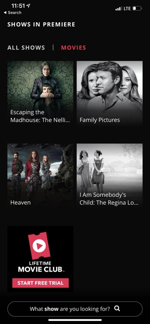 Lifetime TV Shows & Movies on the App Store