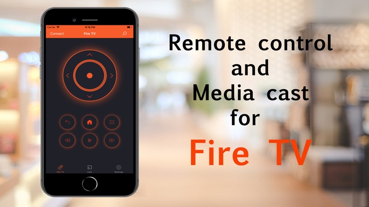 Remote for Fire Stick TV App.