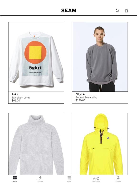 SEAM - Fashion Marketplace