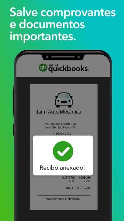 QuickBooks ZeroPaper: Finanças screenshot-6