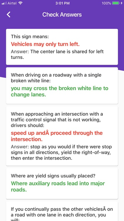 DMV Practice Test Florida screenshot-4