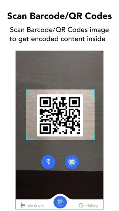 QRコード&バーコードスキャナーのスクリーンショット1
