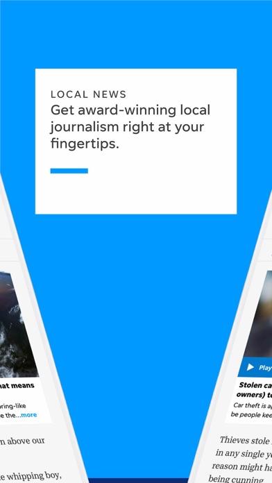 Pensacola News Journal Screenshot on iOS