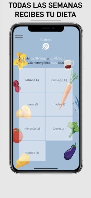 Aplicacion para hacer dieta iphone