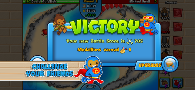 Bloons TD Battles, game for IOS
