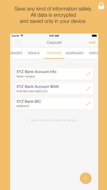 Copycatt - Secure Keyboard screenshot-3