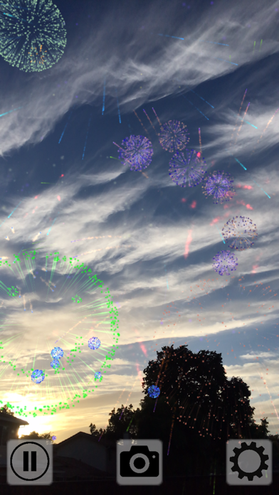 Fireworks Tap AR Screenshots