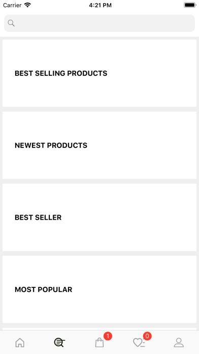 Trivo Shop Screenshot