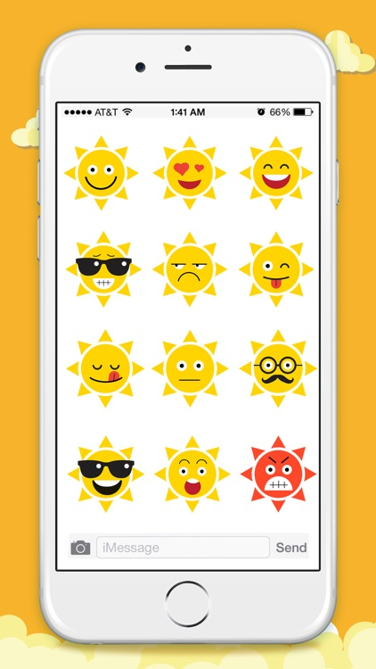 Animated Weather Stickers!