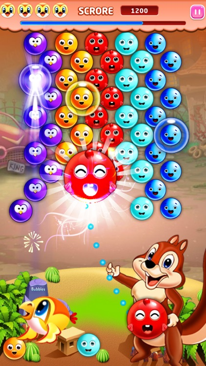 Bubble Shooter Squirrel POP