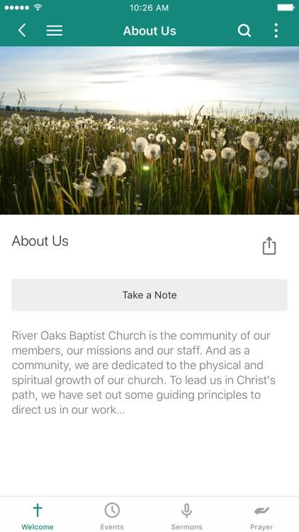 River Oaks Baptist Church