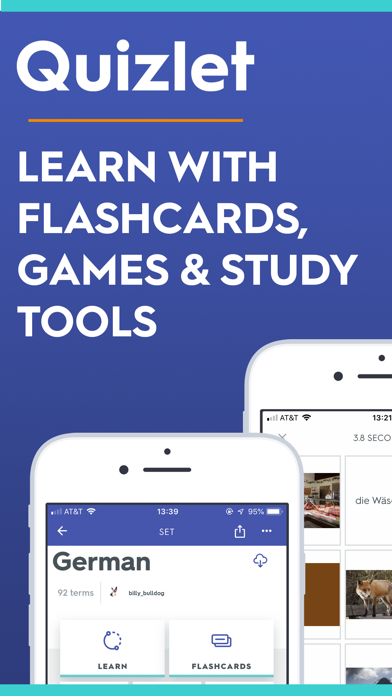 Quizlet Flashcards & Learning screenshot one