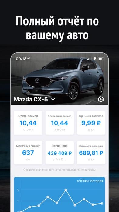Статистика авто расходов CarIQСкриншоты 2