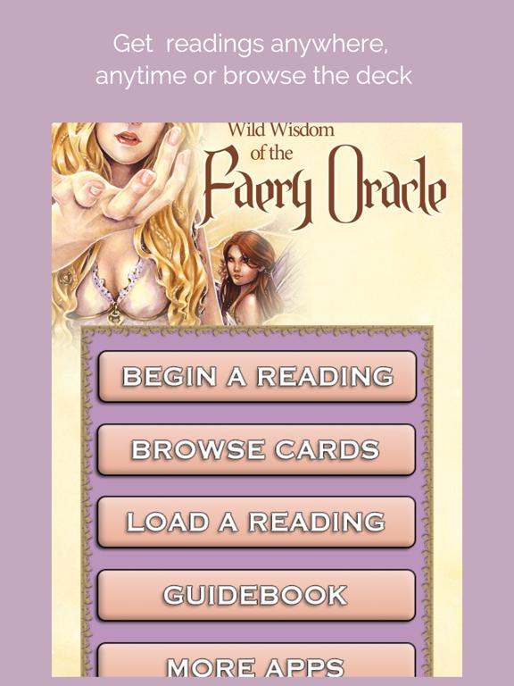 Wild Wisdom Faery Oracle screenshot 8