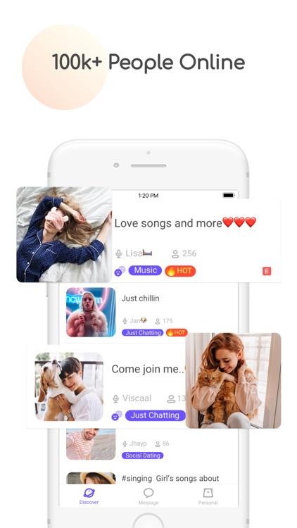Find Friend, Cuddle Voice Chat screenshot-3