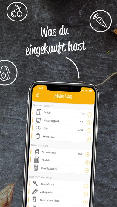 HNGRY - Einkaufsliste & VorratScreenshot von 3