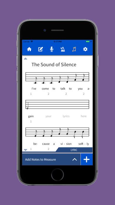 Lyric Notepad screenshot two