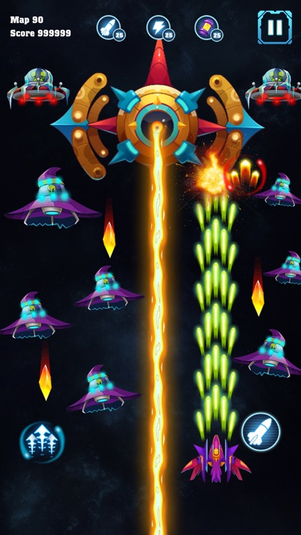 Galaxy Invader : Space Shooter screenshot-3