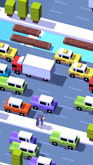 Screenshot for Crossy Road in Singapore App Store