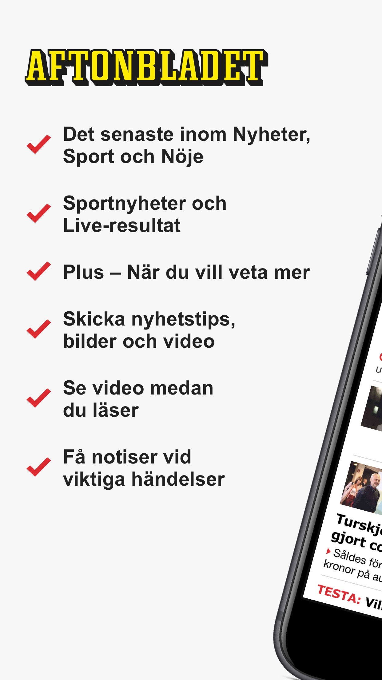 Aftonbladet Nyheter Screenshot