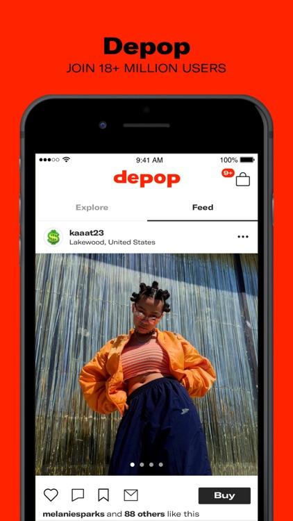Depop - Streetwear & Vintage