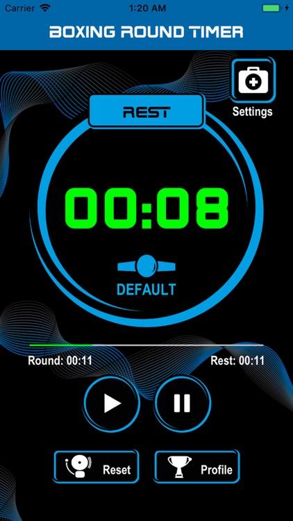 [BRT] Boxing Round Timer screenshot-3