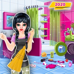 Doll House Cleaning Craft