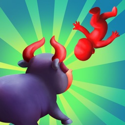 Angry Bull Chase