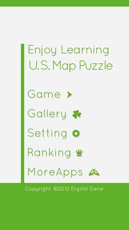 Enjoy Learning U.S. Map Puzzle screenshot-4