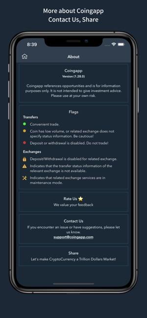 Coingapp - Arbitrage Tracker on the App Store