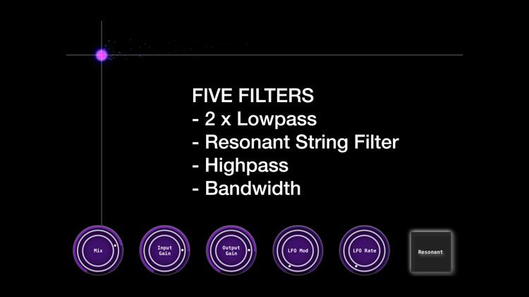 EZ Filter - AUV3 Audio FX