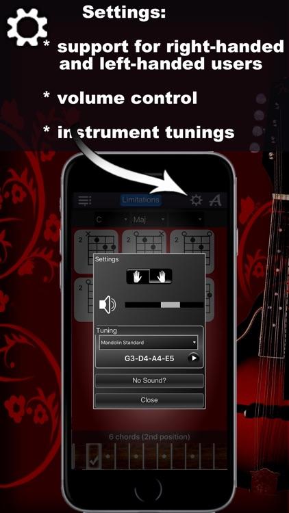 Mandolin Chords Compass Lite screenshot-4