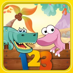 Dino Math Counting 123 Numbers