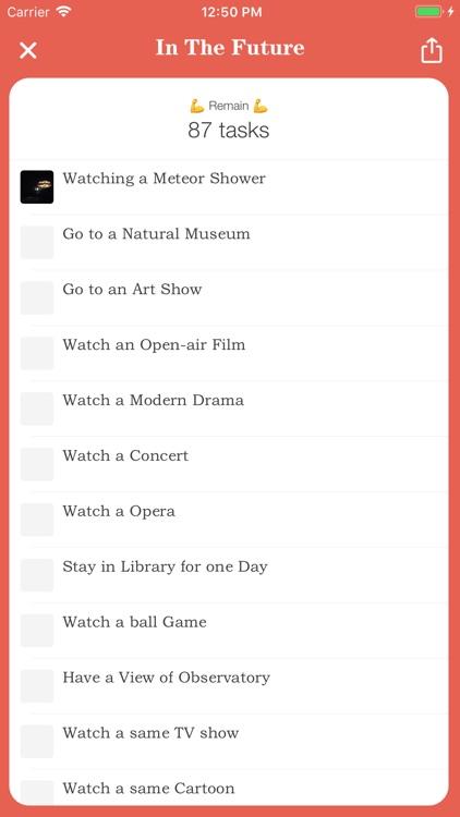 Lover List - Love Task Tracker screenshot-4