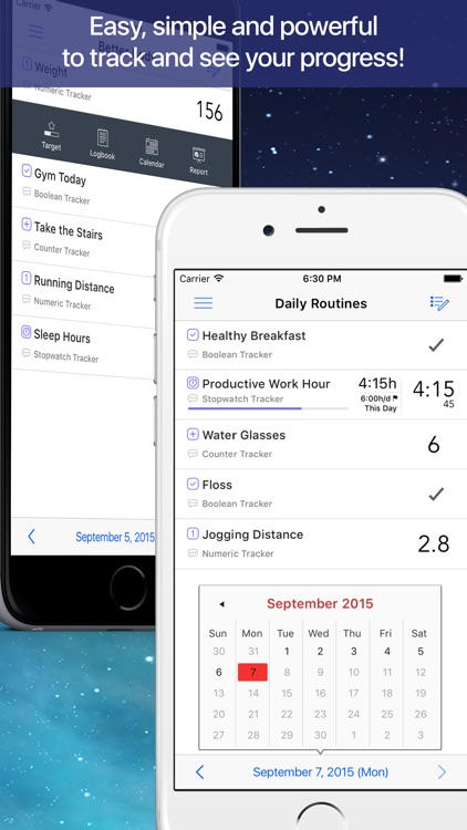 Daily Tracker - Habits & Goals