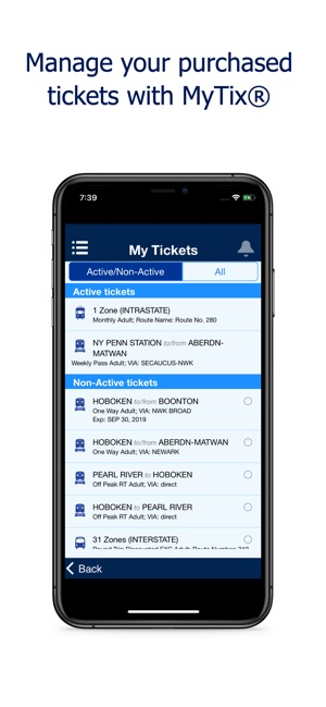 NJ TRANSIT Mobile App on the App Store