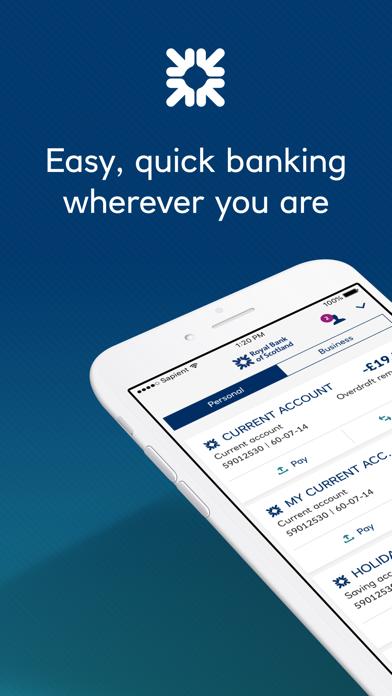 Royal Bank of Scotland screenshot one