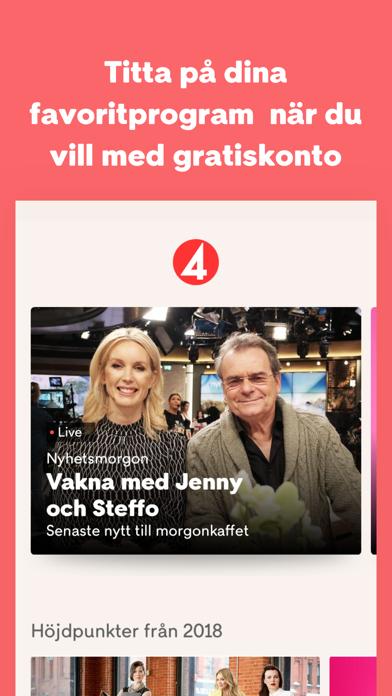 Screenshot for TV4 Play in Sweden App Store