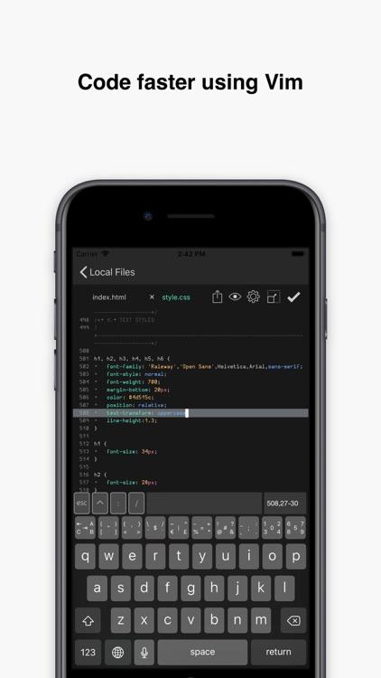 Buffer Editor - Code Editor screenshot-4