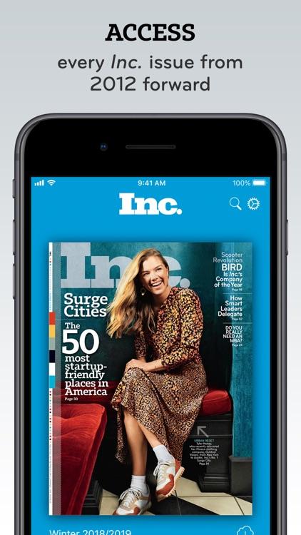 Inc. Must Reads and Magazine screenshot-4