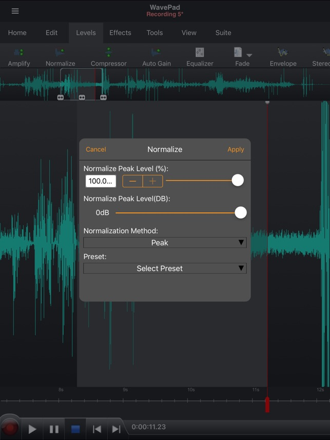 WavePad Music and Audio Editor on the App Store