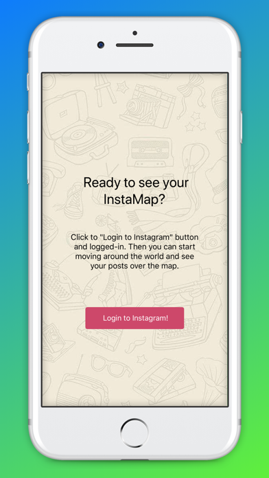 Screenshot #1 pour World Map for Instagram
