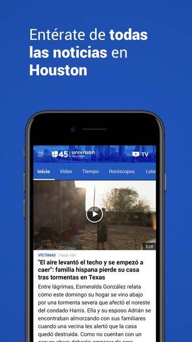Univision 45 Houston screenshot 3