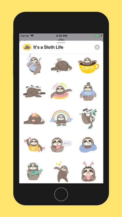 It's a Sloth Life Stickers