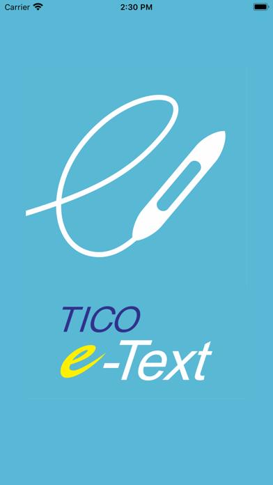 TICO e-Textのスクリーンショット1